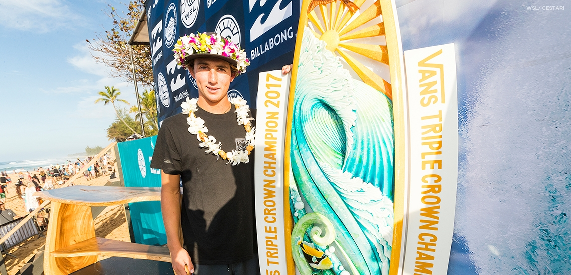 History of the Vans Triple Crown of Surfing | News | 2018